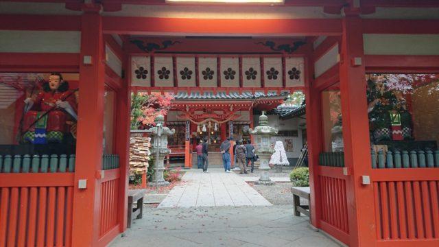 金澤神社の鳥居