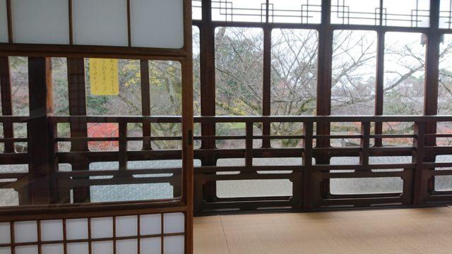 堤亭の2階