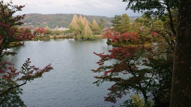 栄螺山からの紅葉
