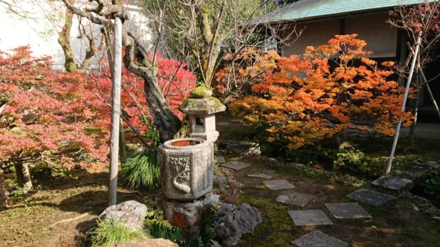 成巽閣の庭園